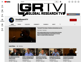 tv.globalresearch.ca screenshot