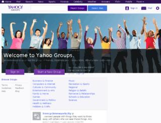 tv.groups.yahoo.com screenshot