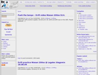 tv.isg.si screenshot