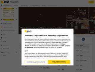 tv.onet.pl screenshot