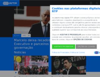 tv1.rtp.pt screenshot