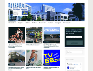 tv58.wordpress.com screenshot