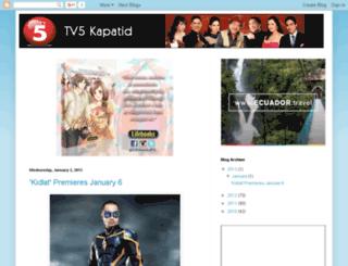 tv5kapatid.blogspot.com screenshot