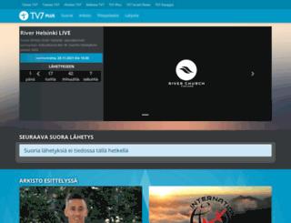 tv7plus.fi screenshot