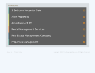 tvallenproperties.com screenshot