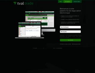 tvaltrade.com screenshot