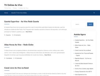 tvaovivo.net.br screenshot