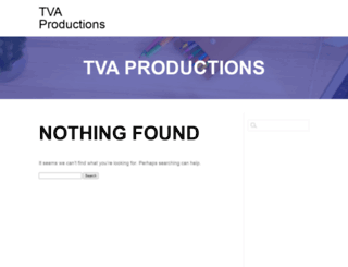tvaproductions.com screenshot