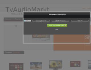 tvaudiomarkt.com screenshot