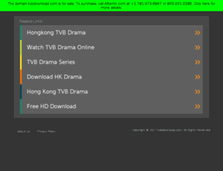 tvbdownload.com screenshot