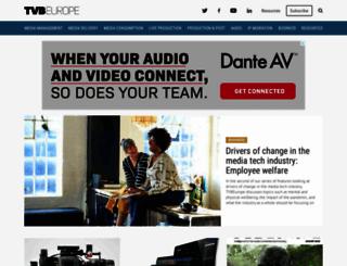 tvbeurope.com screenshot