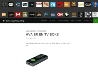 tvboks.no screenshot