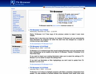 tvbrowser.org screenshot