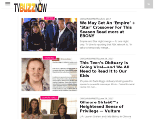 tvbuzznow.com screenshot
