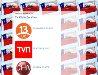 tvchileenvivo.blogspot.com screenshot