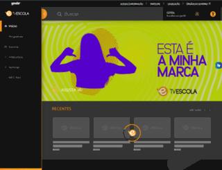 tvescola.mec.gov.br screenshot