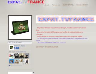 tvfrance.webs.com screenshot