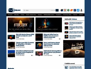 tvfreak.cz screenshot