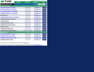 tvg.equibase.com screenshot