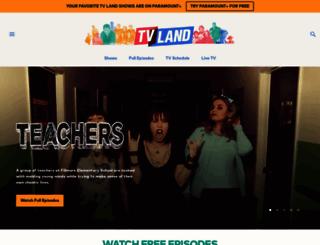 tvland.com screenshot