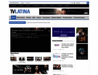 tvlatina.tv screenshot