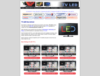 tvled.co.uk screenshot