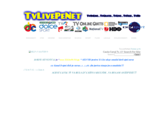 tvlivepenet.weebly.com screenshot