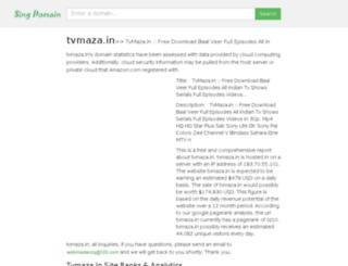 tvmaza.in.singdomain.com screenshot