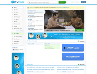 tvmuse.com screenshot