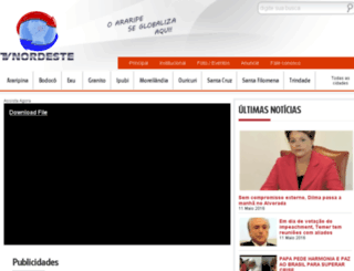 tvnordeste.tv.br screenshot
