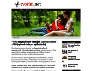 tvorim.net screenshot