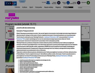 tvprozrywka.tvp.pl screenshot
