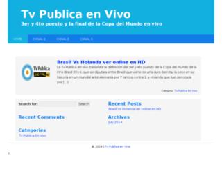 tvpublicaenvivo.com screenshot