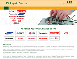 tvrepaircentre.com screenshot