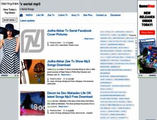 tvserialmp3.blogspot.in screenshot
