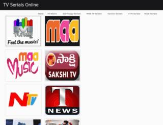 tvserials-online.blogspot.in screenshot