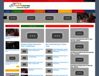 tvserialsongs.blogspot.com screenshot