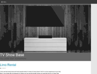 tvshowbase.com screenshot