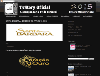 tvstoryoficialportugal.blogspot.ch screenshot