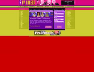 tvtalent.nl screenshot