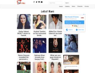 tvtalks.in screenshot