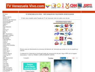tvvenezuelavivo.com screenshot