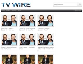 tvwire.net screenshot