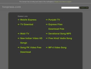 tvxpress.com screenshot