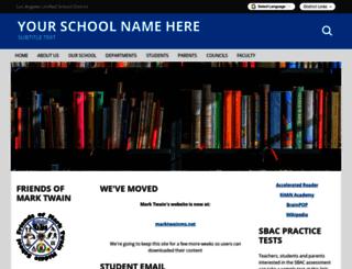 twainms-lausd-ca.schoolloop.com screenshot