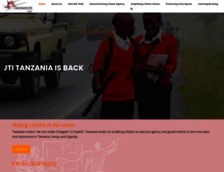 twaweza.org screenshot