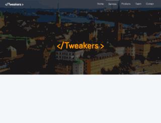 tweakersdev.com screenshot