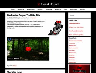 tweakhound.com screenshot