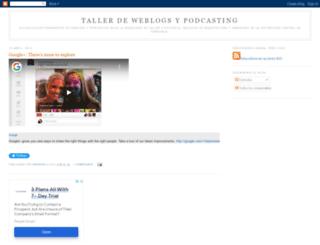 tweblogs.blogspot.co.uk screenshot