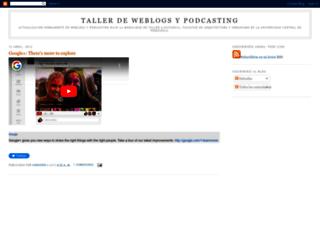 tweblogs.blogspot.fr screenshot